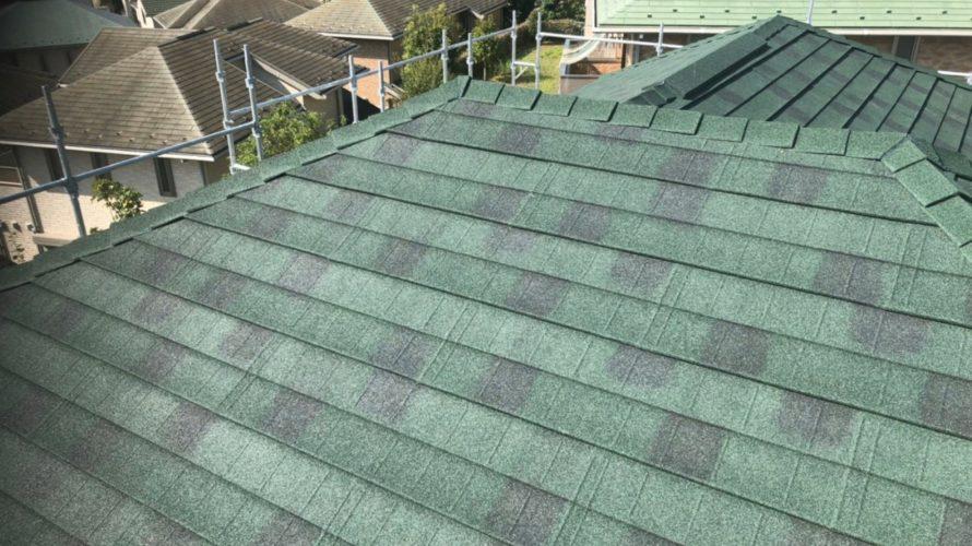 稲城市にて屋根修理&コーキング施工
