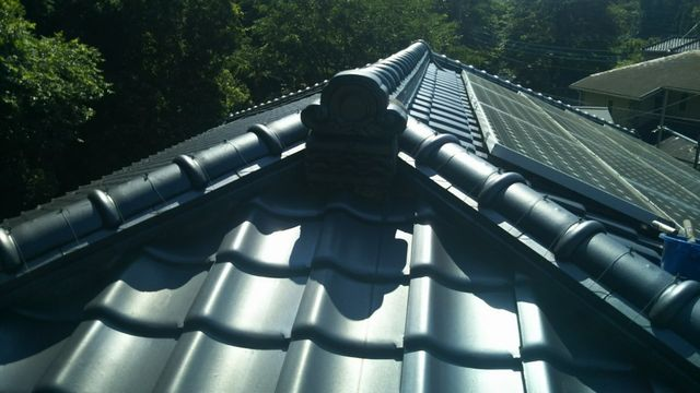 相模原市にて屋根修理