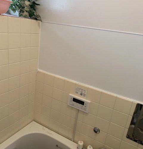 藤沢市にて 浴槽の壁補修工事