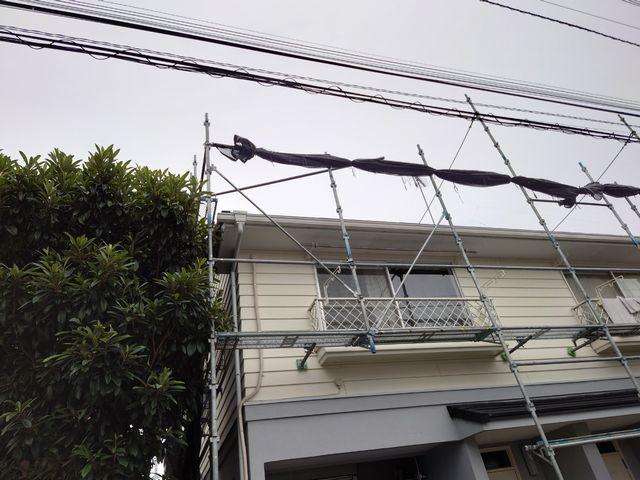 相模原市にて屋根修理 ~アパート屋根修理~